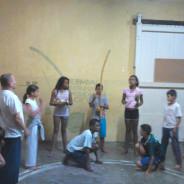 Projeto Caeté ensina capoeira a crianças