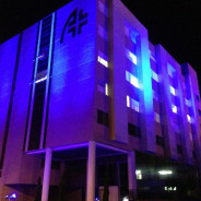 Atibaia ficou azul pelo Dia Mundial do Autismo