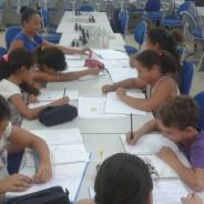 Escola tem aulas de espanhol pelo Projeto Caeté