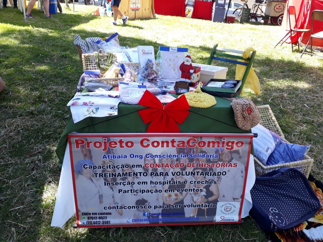 Consciência Solidária presente na feira do Jd. Pinheiros