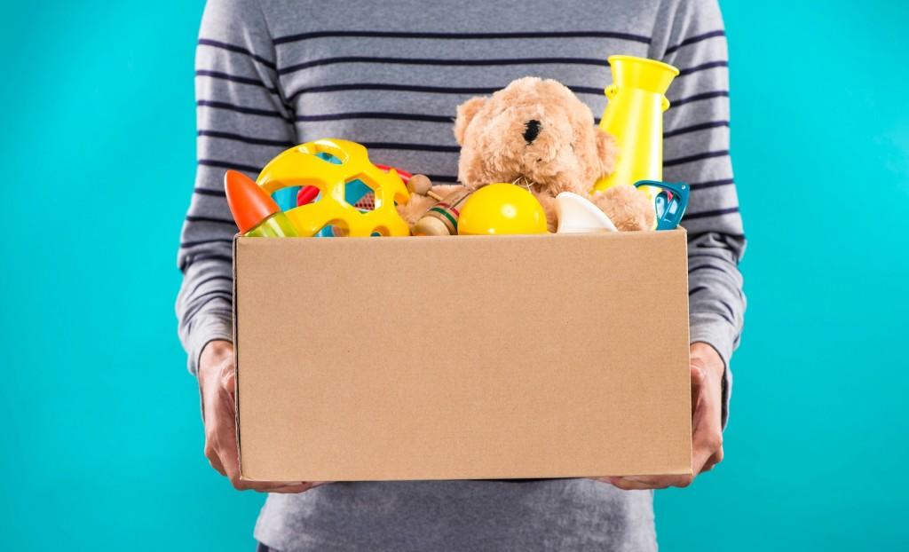 Doação de brinquedos para campanha da Associação Consciência Solidária - Atibaia