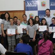 Duas escolas atendidas pelo Vem Ser são premiadas